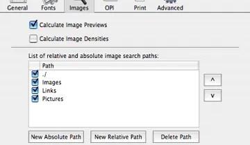 Markzware FlightCheck Images Preferences Image Default State