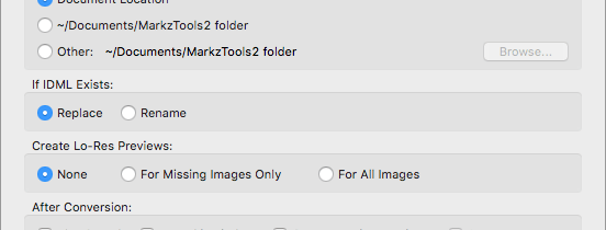 Ventana principal de Markzware MarkzTools2