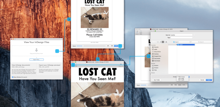 View InDesign, IDML, InCopy Previews, Stories, Images & Fonts via Markzware ID Util for macOS