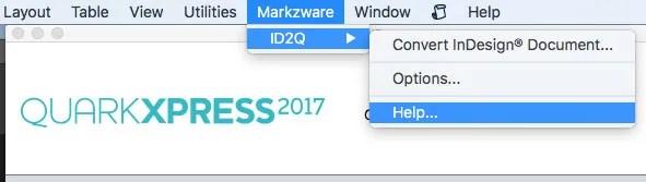 Markzware ID2Q Ayuda / Acerca de la característica