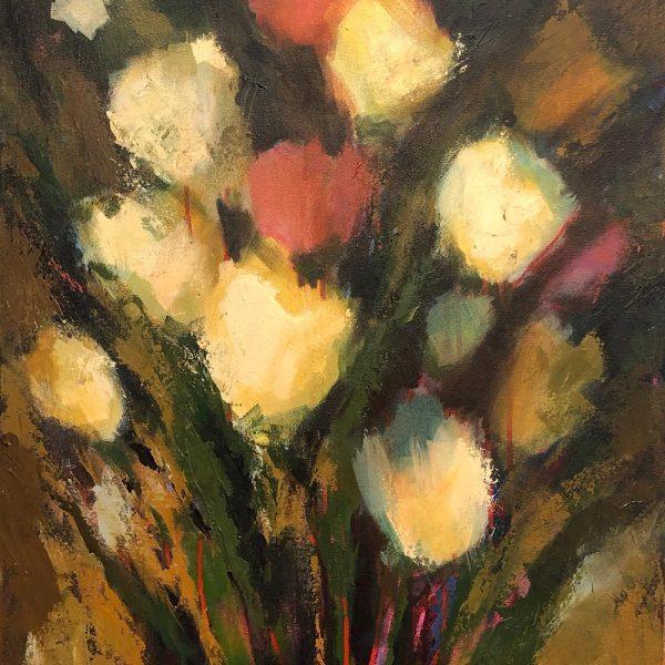 Spring Composition - 24 x 48 - Acrylic