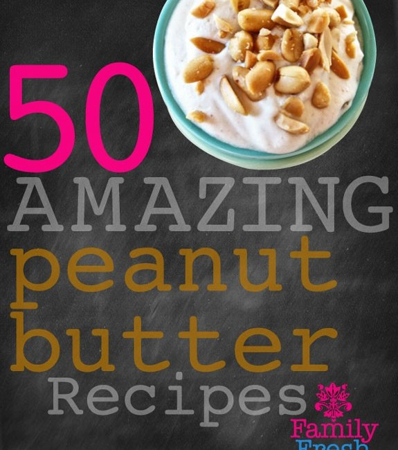 50 Amazing Peanut Butter Recipes on MarlaMeridith.com