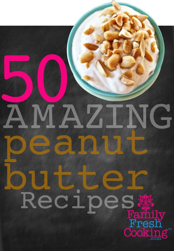 Yum! 50 AMAZING Peanut Butter Recipes on MarlaMeridith.com