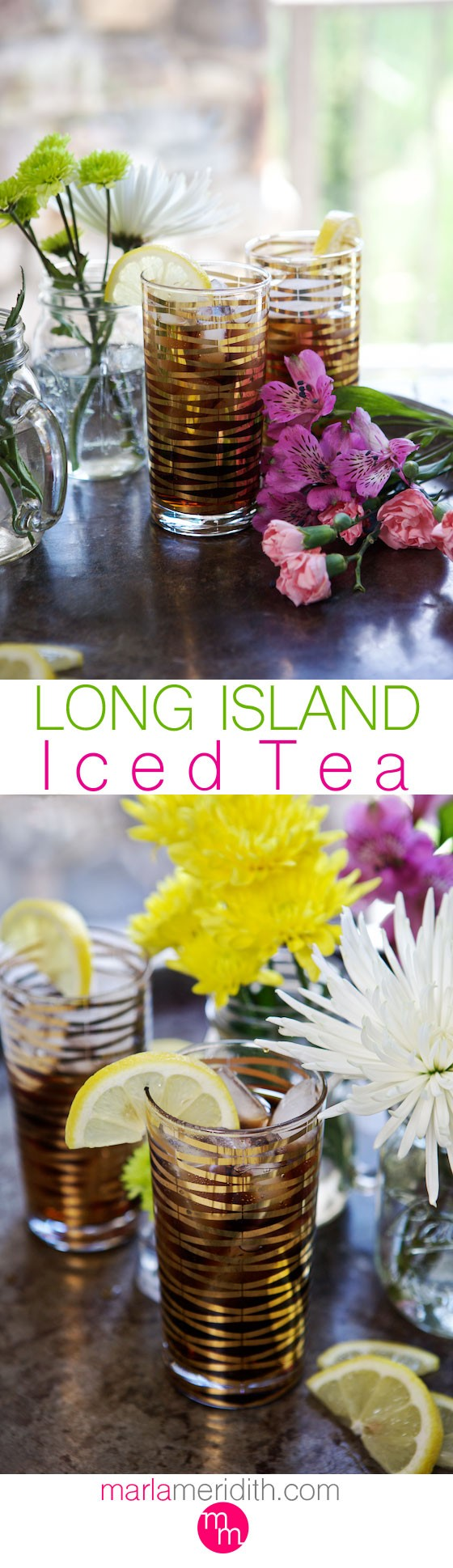 Long Island Iced Tea | Not your regular iced tea! MarlaMeridith.com ( @marlameridith )