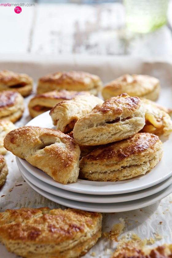 The best Apple Hand Pies aka: Apple Turnovers ever! For the recipe head over to MarlaMeridith.com ( @marlameridith )