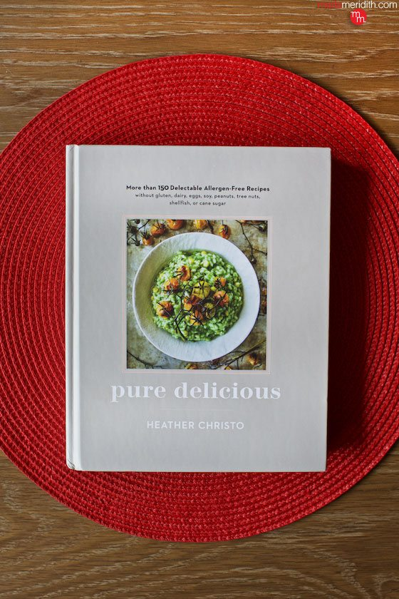 Pure Delicious #cookbook by @HeatherChristo A winner! 150 delectable allergen-free recipes. Featured on MarlaMeridith.com ( @marlameridith )