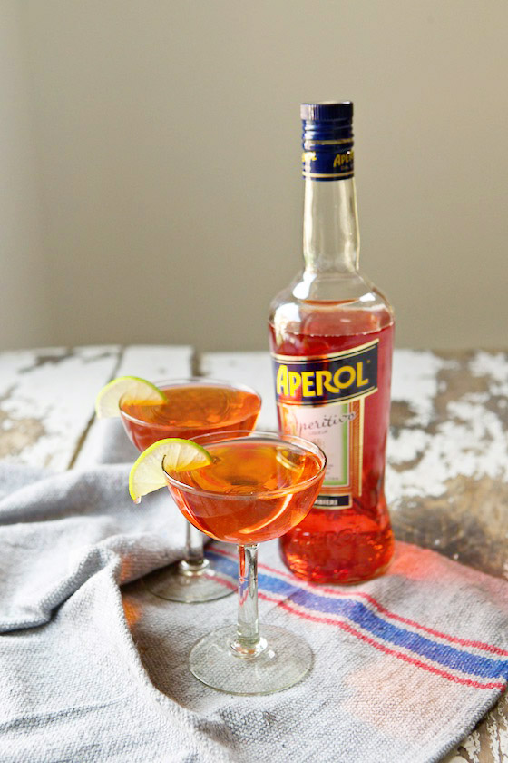 Aperol Cosmopolitan Cocktail recipe