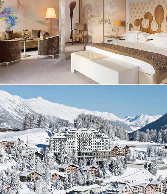 Carlton Hotel, St. Moritz, Switzerland   Bucket List: featured on MarlaMeridith.com #travel #alps #ski #luxury