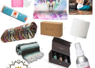 The Best Holiday Gifts for Yogis | MarlaMeridith.com #yoga #christmas #exercise #gifts