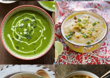 12 Delicious Soup Recipes to Warm You Up on a Cold Winters Day | MarlaMeridith.com #recipe #soup