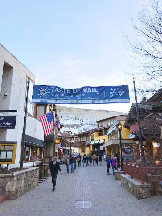 The Taste of Vail. An EPIC 4 day Food & Wine Festival in Vail, Colorado. Featured on MarlaMeridith.com #travel #vail #ski