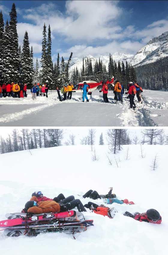 The Ultimate Heli-Ski experience with CMH   MarlaMeridith.com #ski #travel