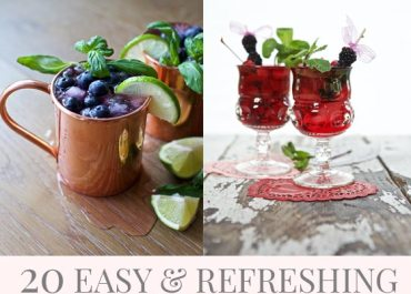 Get the recipes for these 20 Easy & Refreshing Summer Cocktails on MarlaMeridith.com
