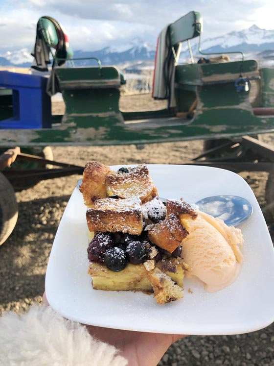 For a authentically rustic mountain experience have dinner & epic mountain views with Telluride Sleighs and Wagons! MarlaMeridith.com