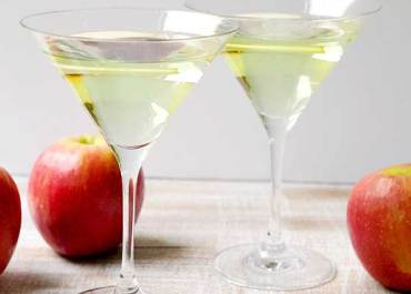 This deliciously Sweet and refreshing Appletini Cocktail recipe will be the hit at your next happy hour or holiday party! MarlaMeridith.com