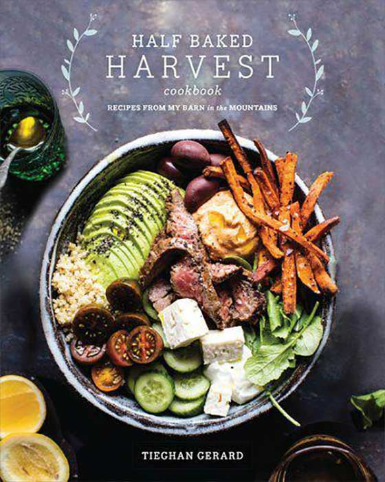 Cookbook Holiday Gift Guide! Half Baked Harvest by Tieghan Gerard featured on MarlaMeridith.com