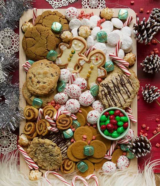 Tips & recipes for the BEST Holiday Cookie Board! MarlaMeridith.com
