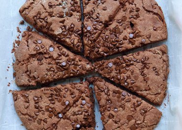 Double Chocolate Buttermilk Scones