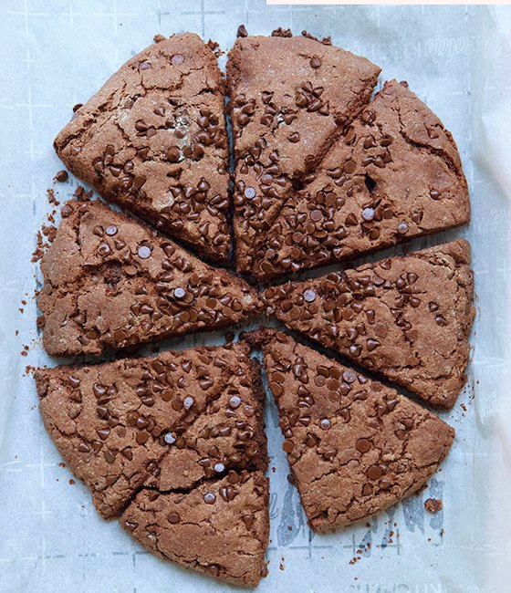 A family favorite! Try this Double Chocolate Buttermilk Scones recipe, great for any time of the day. Chocolate lovers will swoon over all the chocolate goodness packed inside. MarlaMeridith.com