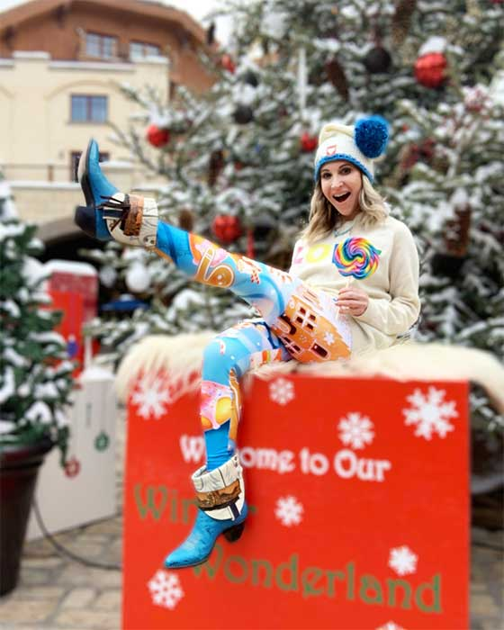 Seasons Greetings and Merry Christmas from Marla Meridith in Telluride, Colorado. There are so many ways to celebrate the holidays, just remember to have FUN! MarlaMeridith.com