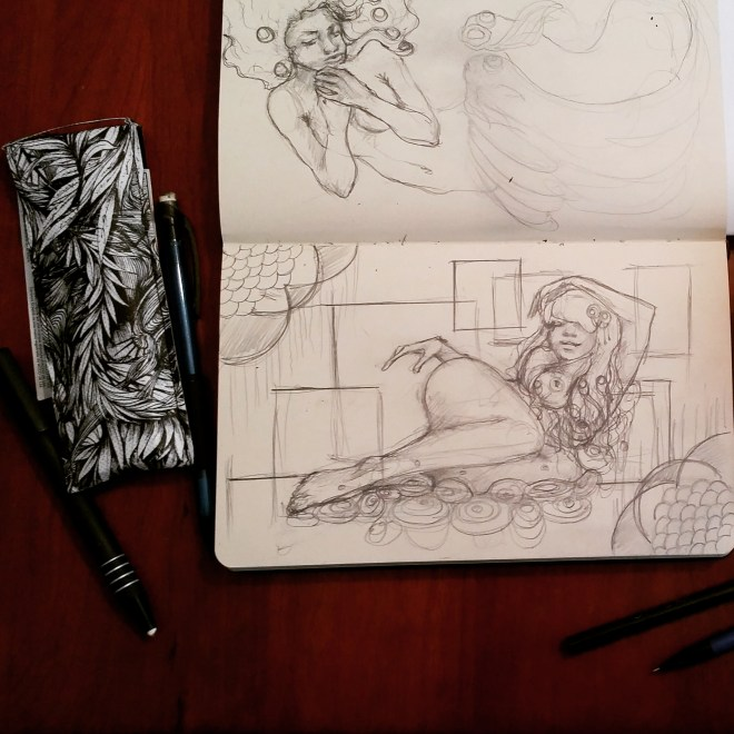 #sexy #art for #MoleskineMonday