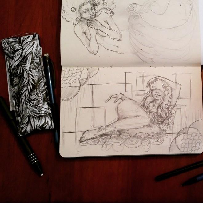 #sexy #art for #MoleskineMonday