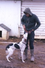 Warren with his dog!