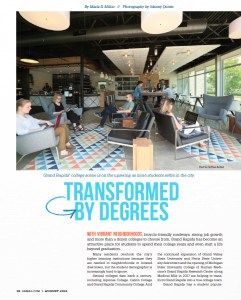 Grand Rapids Magazine - Transformed by Degrees