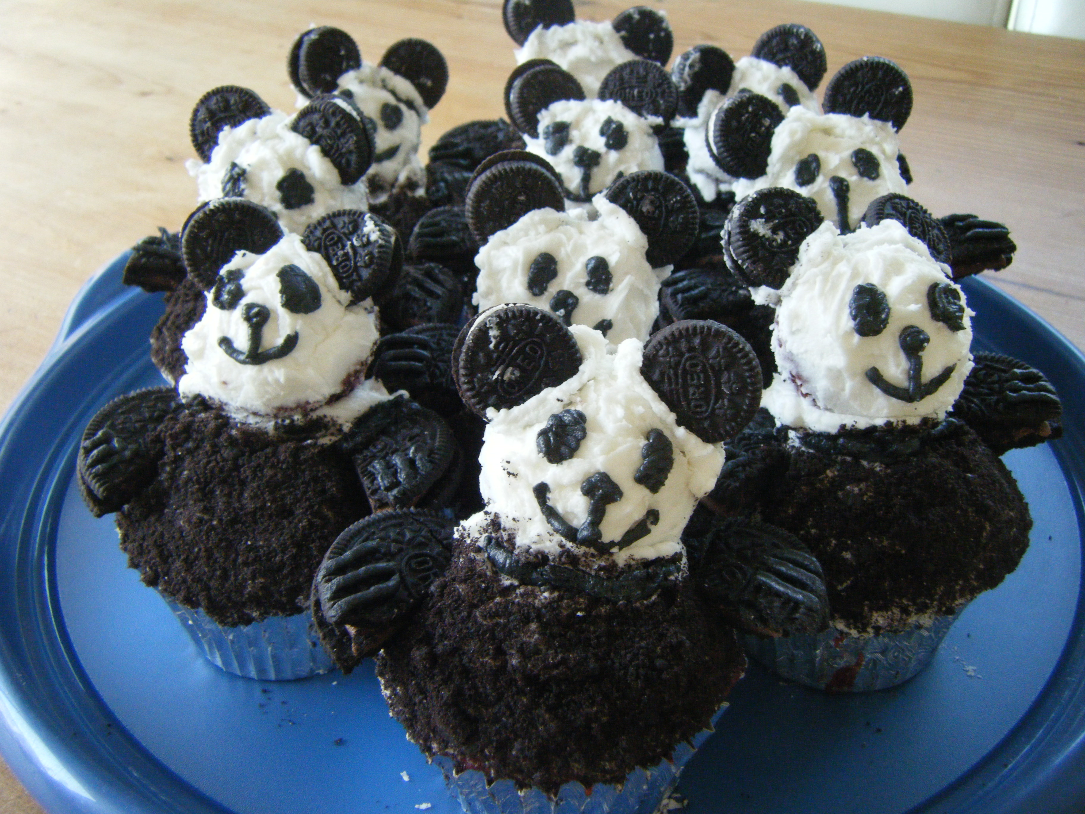 Panda Cupcakes Marlborough Road Bakery