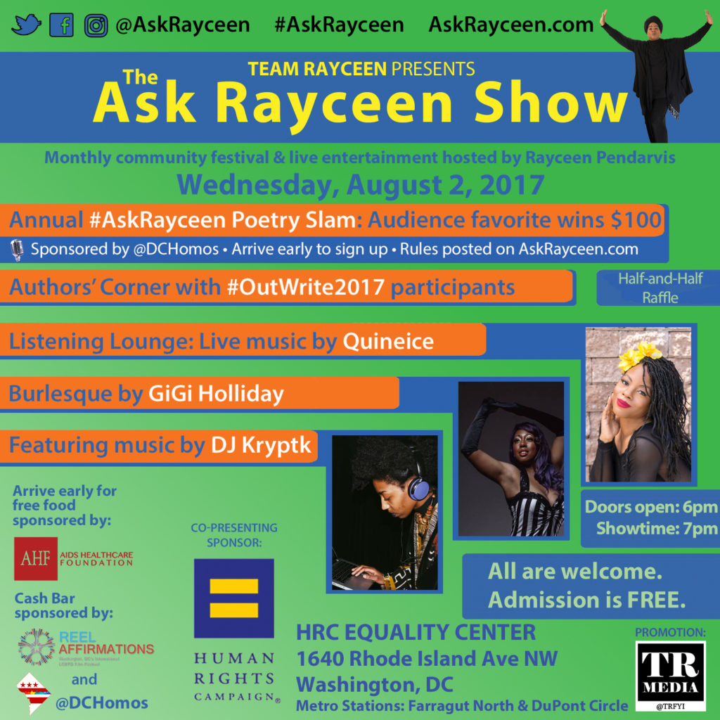 Ask Rayceen Show August 2017