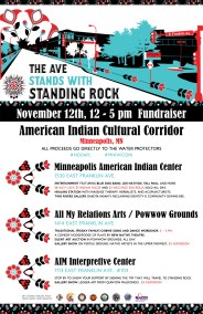 The Ave Stands with Standing Rock Fundraiser