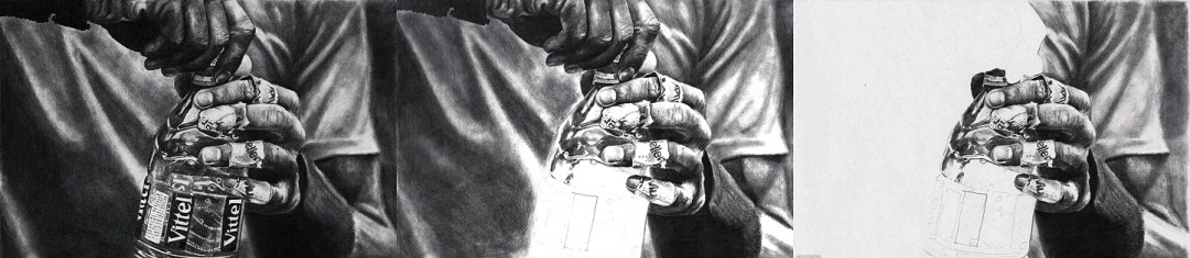 Drawing of Rafael Nadal Hands