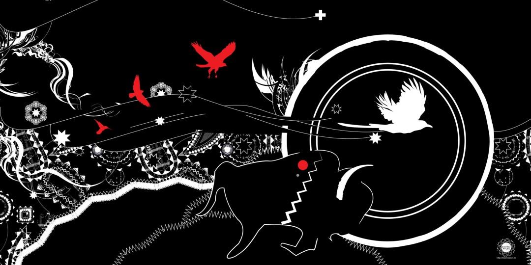 The Great Race Mural at Intermedia Arts