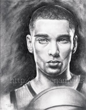 Zach LaVine drawing
