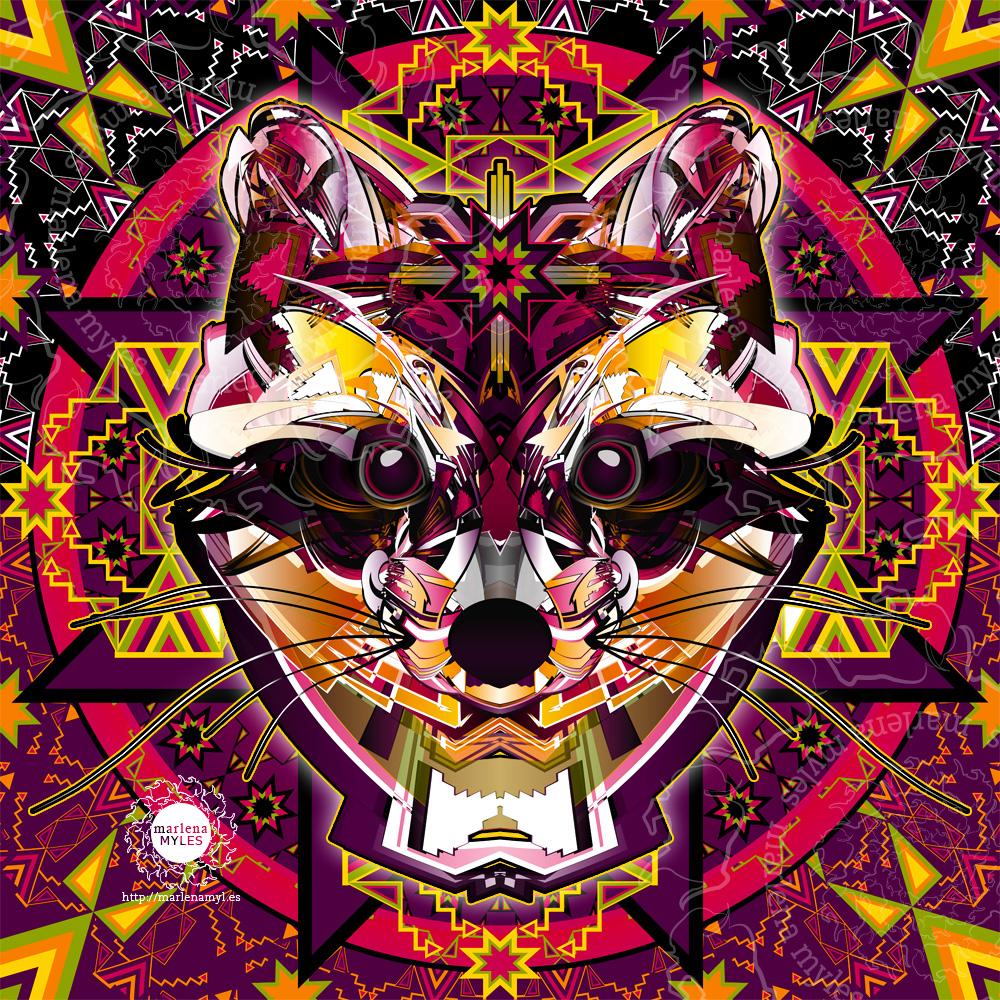Buffalo Spirit Native American Art