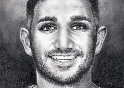 Ricky Rubio drawing