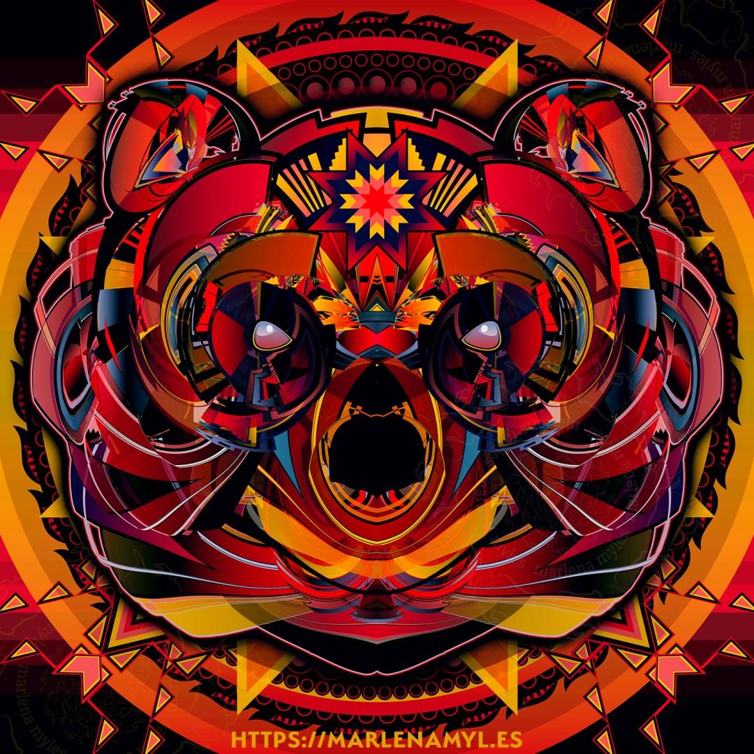 Bear Spirit Native American Art