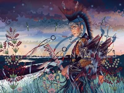 Return of Wakíŋyaŋ, thunder being