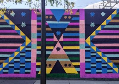 WE Mural: Kapemni (mirroring)