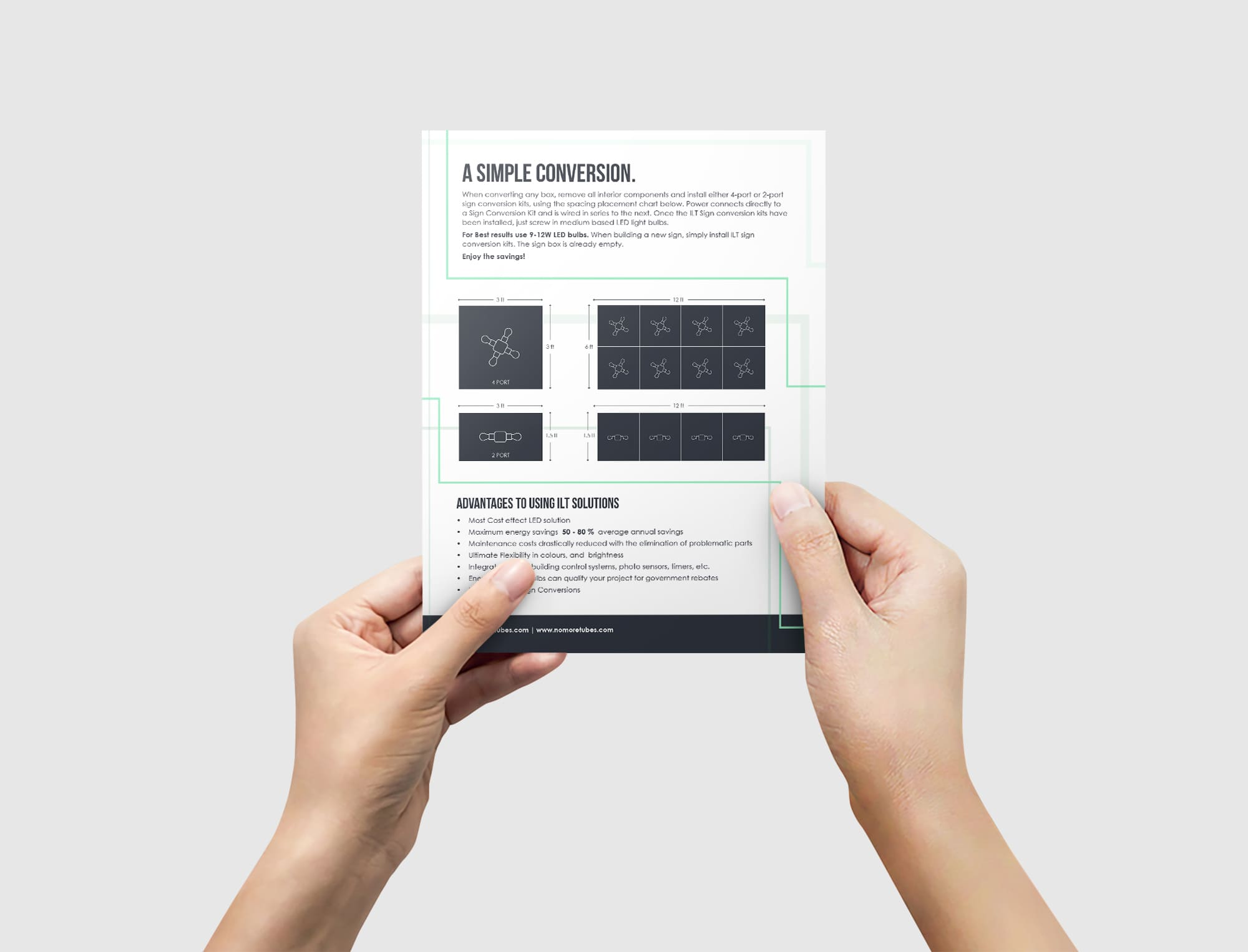 Double Sided A5 Flyer Mockups 02