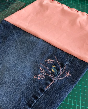 DenimHandbag-SewingInside