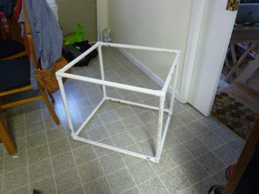 The complete box frame