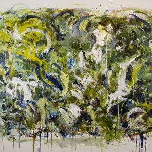 "speak loudly 48"" x 72"" - $4800 - oil on canvas by Marlene Lowden - large scale work"