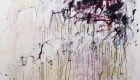 "Dear Diary 72"" x 48"" oil on canvas $4800 by Marlene Lowden"