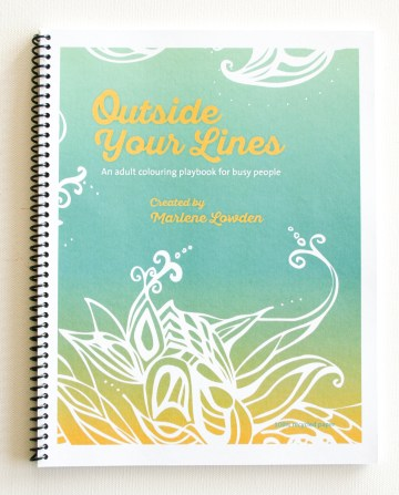 Outside Your Lines colouring book