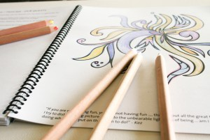Outside Your Lines, a colouring book