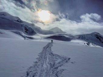 Rückweg Wildspitze Petersenspitze