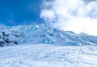 Wildspitze Petersenspitze Eis