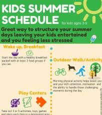 Kids summerSchedule
