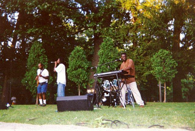 1996 - Joe, Vaughn, Bose and Ron